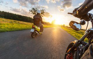 Beliebte Motorradstrecken in Baden-Württemberg