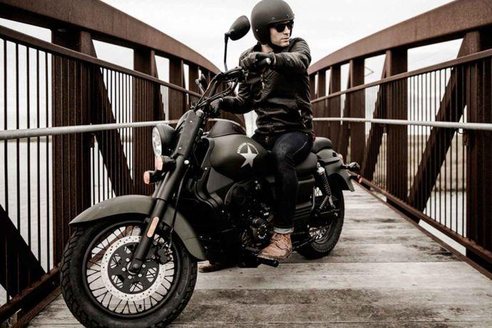 Große leute cruiser motorrad für Einsteiger Motorrad